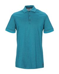 Versace Poloshirt in Blue für Herren