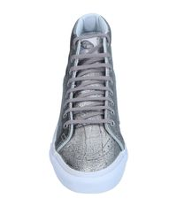 Vans - Metallic High-tops & Sneakers - Lyst