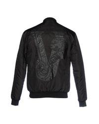 Versace Jeans Black Jacket for men
