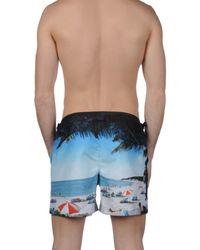 Orlebar Brown Blue Swim Trunks for men
