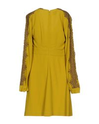 Pinko Multicolor Kurzes Kleid
