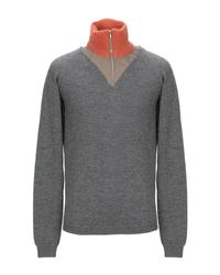 Kolor Gray Turtleneck for men