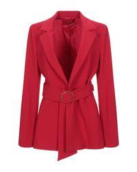 Americana Pennyblack de color Red