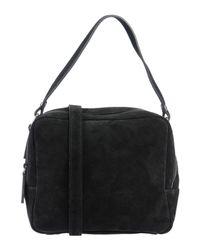 Manifatture Campane Black Handbag