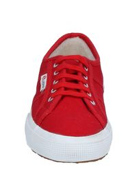 Superga Red Low-tops & Sneakers
