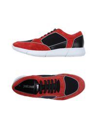Just Cavalli Low Sneakers & Tennisschuhe in Red für Herren