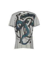 Camiseta Roberto Cavalli de hombre de color Gray