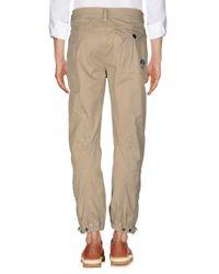 Pantalone di North Sails in Natural da Uomo