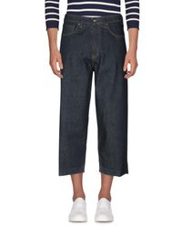 Levi's Blue Denim Capris for men