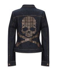 Capospalla jeans di Philipp Plein in Blue