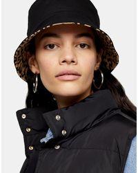Sombrero TOPSHOP de color Black