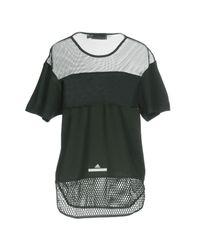 Adidas By Stella McCartney - Green T-shirt - Lyst