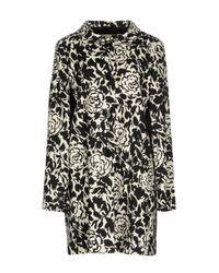 Herno Black Overcoat