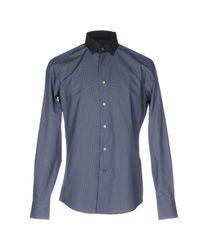 Lanvin Blue Shirt for men