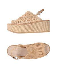 Robert Clergerie Natural Sandals