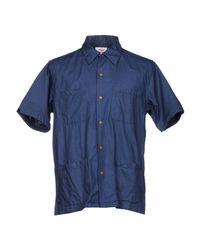 Battenwear Blue Shirt for men