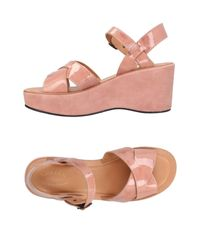 Kork-Ease Pink Sandals