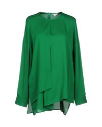 Enfold - Green Blouse - Lyst