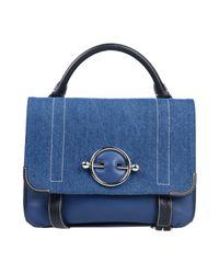 J.W. Anderson Blue Handtaschen