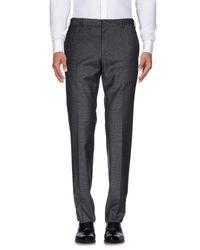 Prada Gray Casual Pants for men