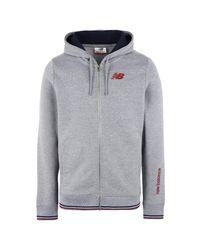 New Balance Gray Sweatshirt for men