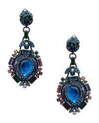 Lanvin - Blue Earrings - Lyst