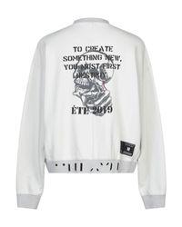 Unravel Project Sweatshirt in White für Herren