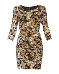Philipp Plein Multicolor Short Dress