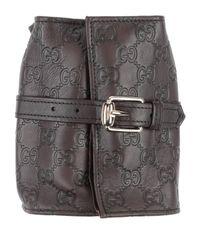 Accesorio para calzado Gucci de color Brown