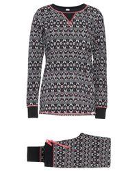 Pyjama SKINY en coloris Black