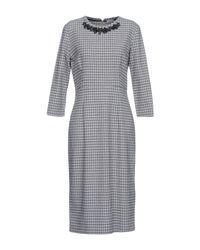P.A.R.O.S.H. Gray Knee-length Dress