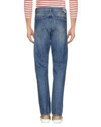 Mauro Grifoni Blue Denim Pants for men