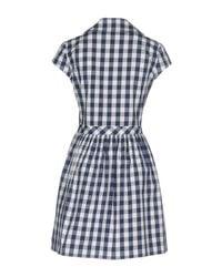 Love Moschino Blue Checked Dress