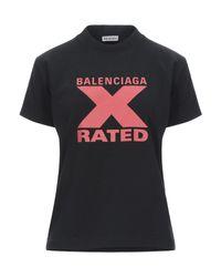 Balenciaga Black T-shirt