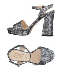 Divine Follie Gray Sandals