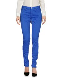 Paul Smith Blue Casual Pants