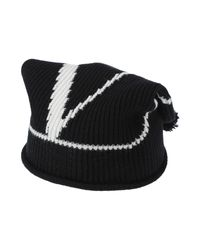 Chapeau Valentino Garavani en coloris Black