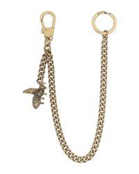 Porte-clé Gucci pour homme en coloris Metallic