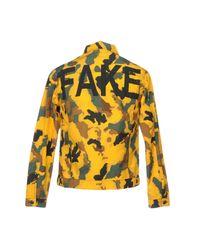 Paura Yellow Jacket for men