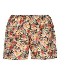 Shorts di Momoní in Yellow