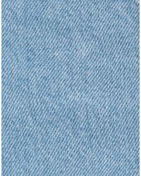 Pantalon en jean MSGM en coloris Blue
