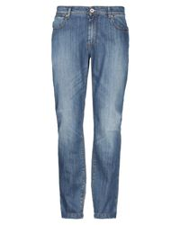 Brooksfield Blue Denim Pants for men
