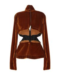 Blouse Marques'Almeida en coloris Brown