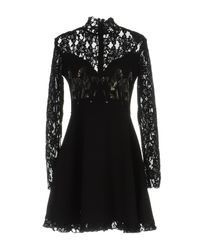 Philipp Plein Black Short Dress