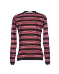 Pullover di Obvious Basic in Red da Uomo