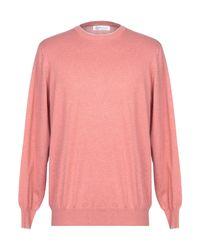 Pullover Brunello Cucinelli de hombre de color Pink