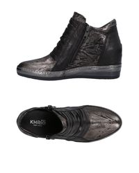 Khrio Gray High-tops & Sneakers