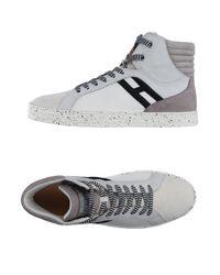 Hogan Rebel White High-tops & Sneakers for men
