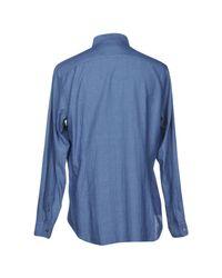 Altea Blue Shirt for men
