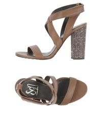 Sgn Giancarlo Paoli - Brown Sandals - Lyst